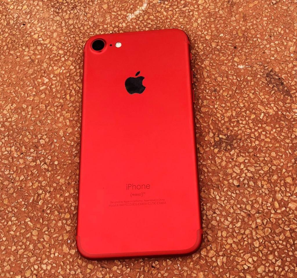 IPHONE 7 DE 32GB COMO NUEVO DETALLE BOTON HOME PRECIO FIJO