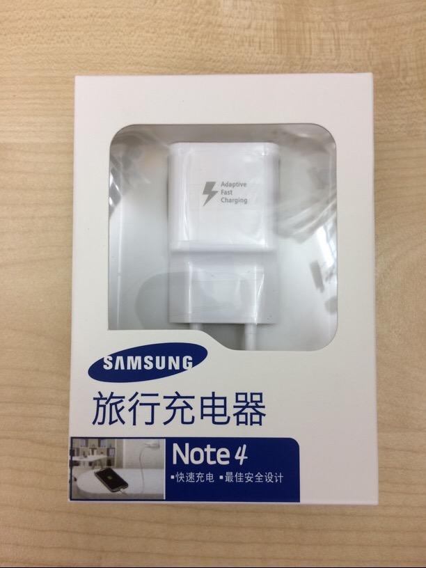 Solo Cargador Enchufe Caja Original Carga Rapida Samsung