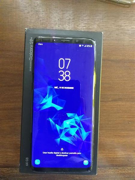 Vendo samsung Galaxy S9 PLUs Nuevo