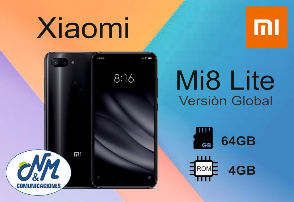 XIAOMI MI8 LITE de 64GB/4RAM /COLORES. Somos COMUNICACIONES