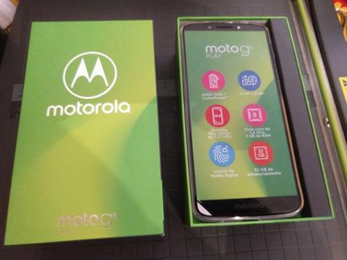 Celular Moto G6 Play Nuevo