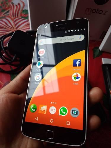 Moto Z Play + Todos Los Accesorios Cambio O Vendo 9 De 10