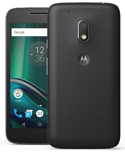 Motorola Moto G4 Play 4g Sim En Color Negro Como Nuevo