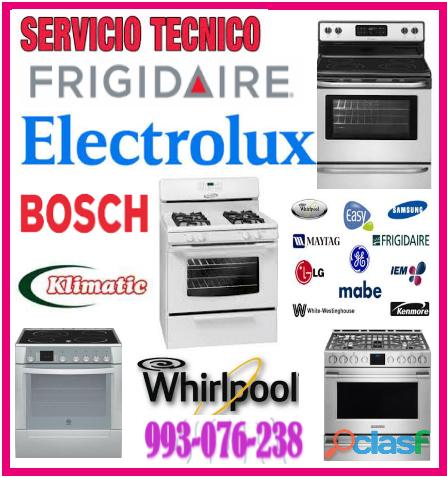 Servicio técnico de cocinas a gas electrolux 993 076 238