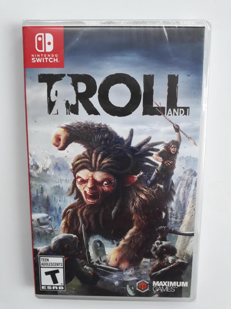 Troll And I Juego Nintendo Switch Nuevo Y Sellado