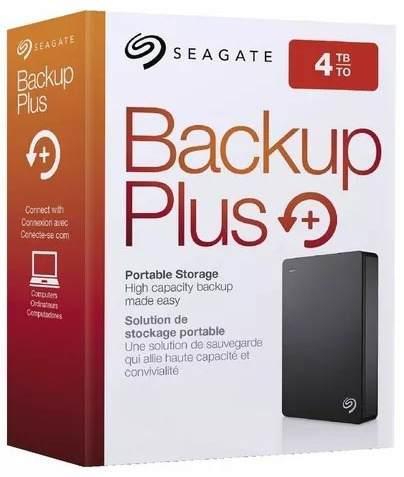 Disco Portatil 4tb Seagate Backup Plus Usb 3.0 Originales!