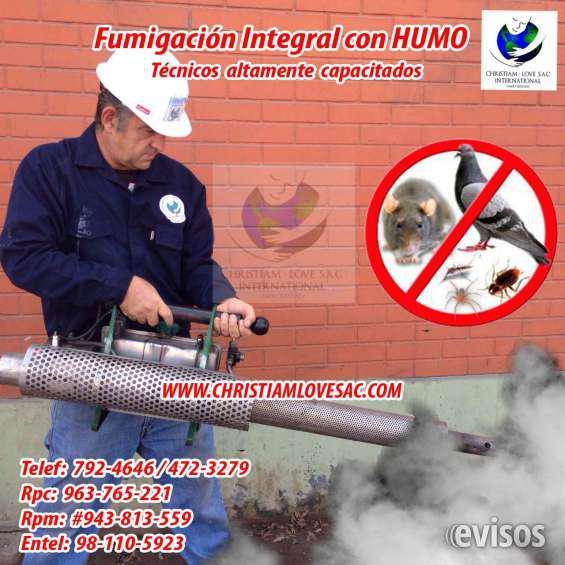 Fumigaciones contra hongos para pared en lima tel: 792-4646
