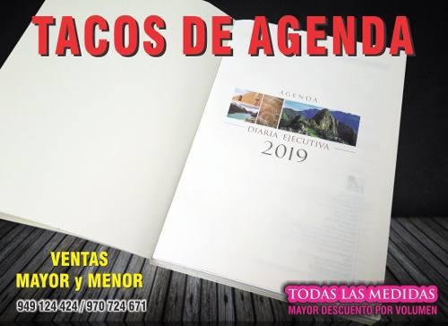 Tacos De Agenda 2019 - Al Por Menor Y Mayor