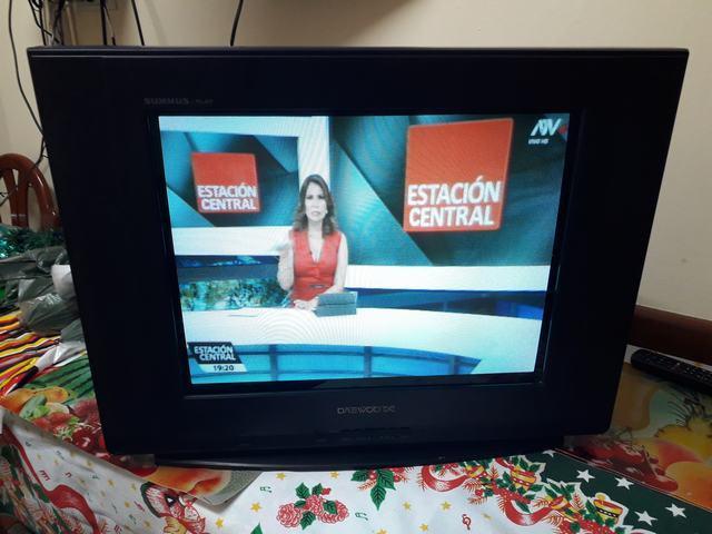 Televisor 21 Pulgadas Daewoo Pantalla Plana Operativo