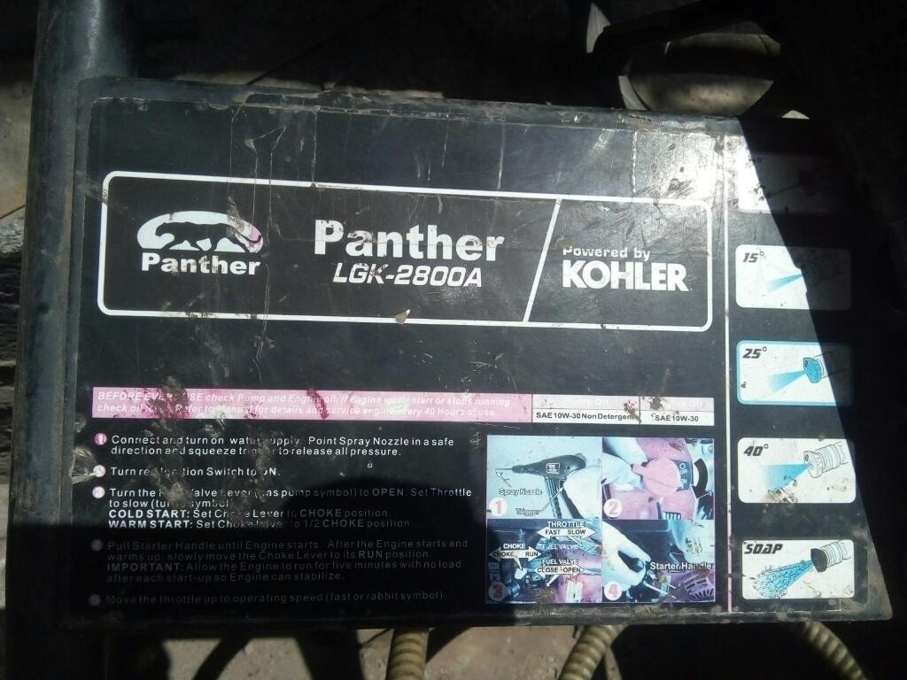 en Venta Hidrolavadora Marca: Panther