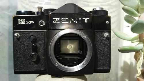Camara Zenit 12xp De Rollo
