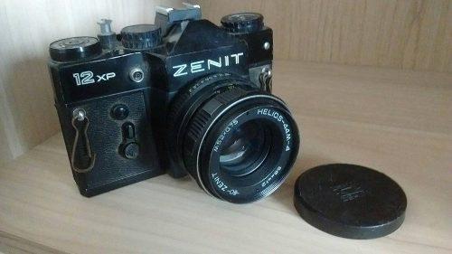 Cámara Fotográfica Zenit Antigüedad