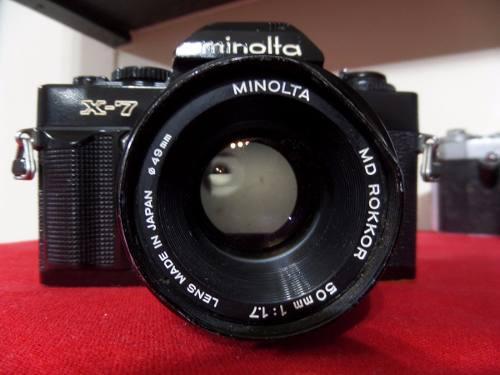 G25 Camara Fotografica Reflex Analogica Minolta Coleccion