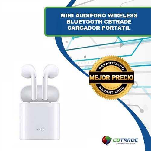 Mini Audifono Wireless Bluetooth I7s Cargador Portatil