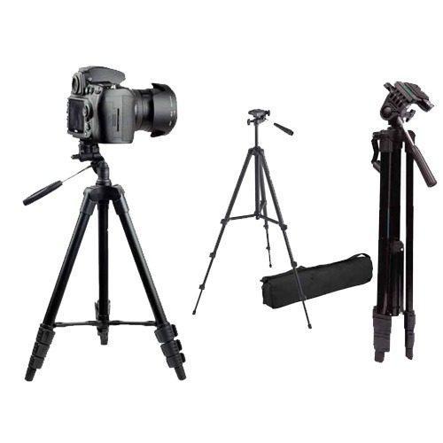 Trípode De Camara 1.30mts Soporta 1kg P/canon Nikon