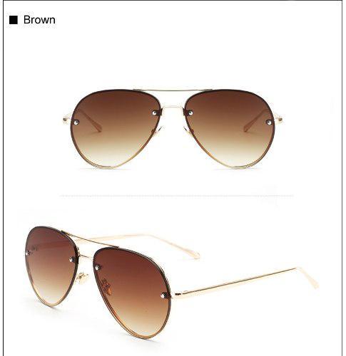 Gafas De Sol Hombres/mujer, Diseño Aviador Lentes De Sol