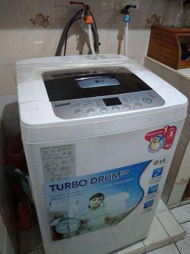 Lavadora De 7,5 Kg, Marca Lg - Usado A