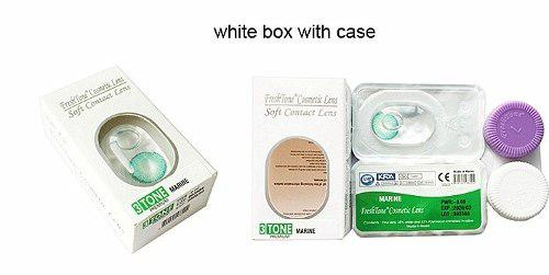 Lentes De Contacto Freshtone + Porta Lentes! 100% Originales