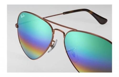 Lentes De Sol Ray Ban Rb 3025 9018/c3 Original 2018 Aviador