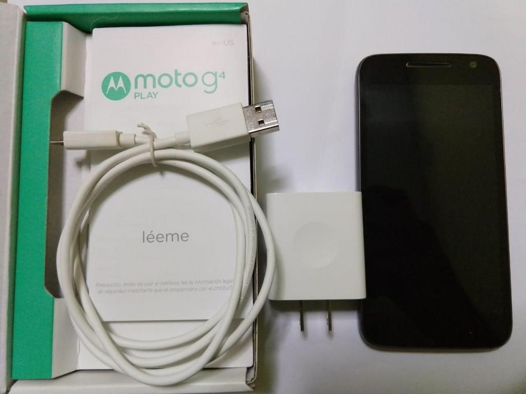 Motorola Moto G4 Play 4g En Color Negro Movistar Entel Claro