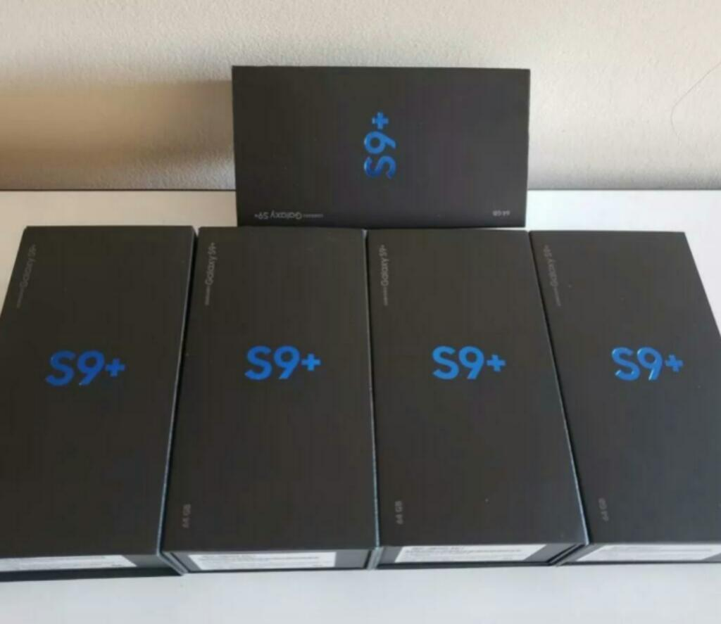 Samsung Galaxy S9 Plus, 6gb Ram, 64gb, Octa Core, Cam Dual