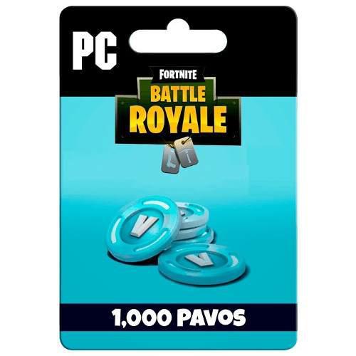 Fortnite 1000 Pavos Bucks