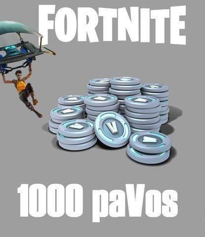 Fortnite 1000 Pavos Solo Peru