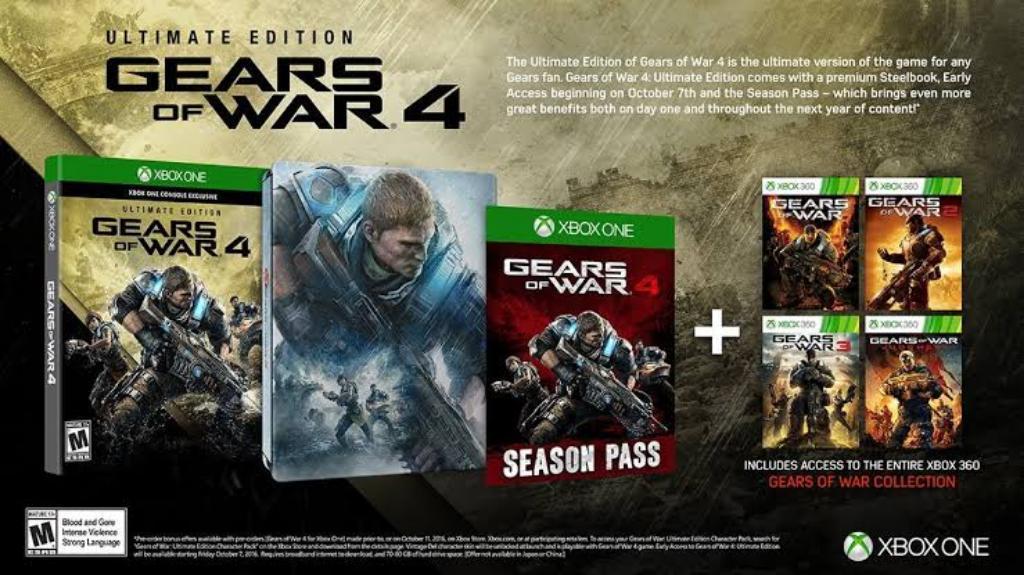 Gear Of War 4 Precio 160 Soles