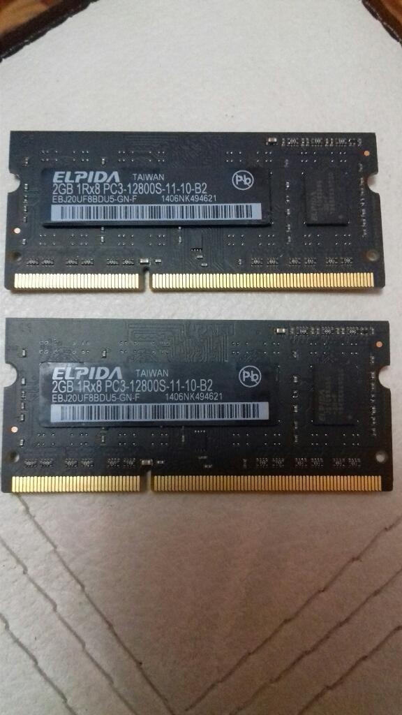 Memoria Ram 2gb Ddr3 para Mac