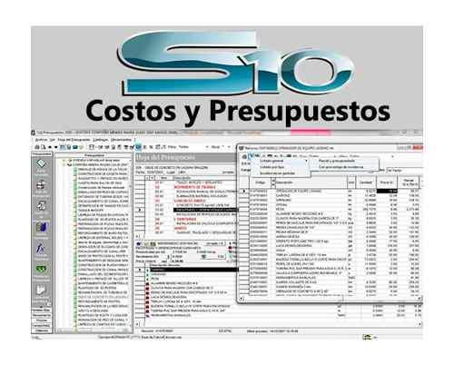 S10 Programa Original Licencia Permanente Costos Y Presupues