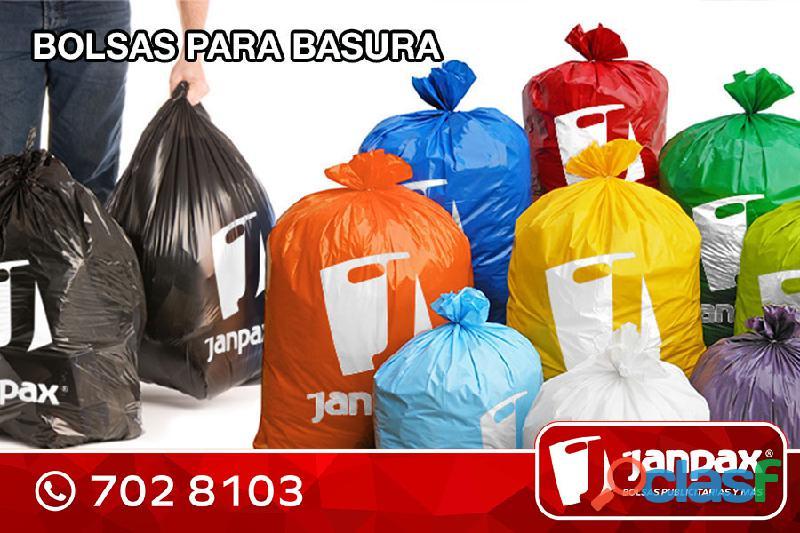 Bolsas para Basura JANPAX