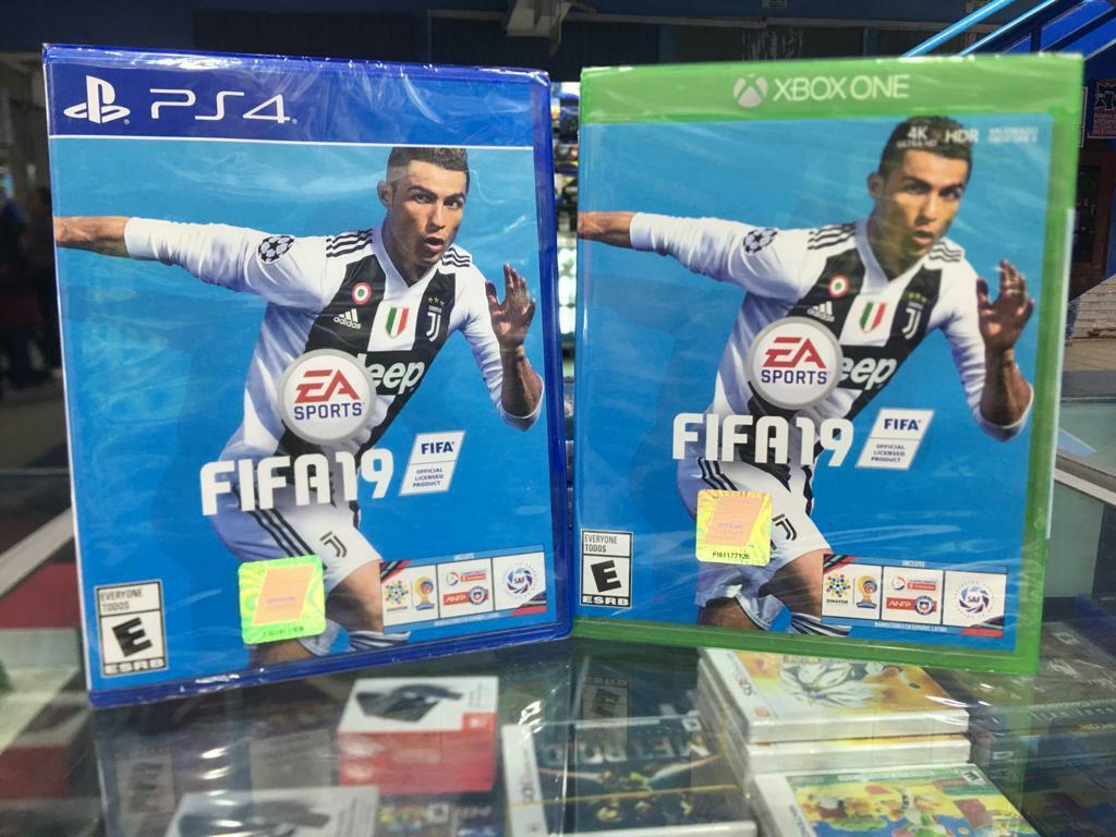 Fifa 19 Xbox One Nuevo Y Sellado Stock