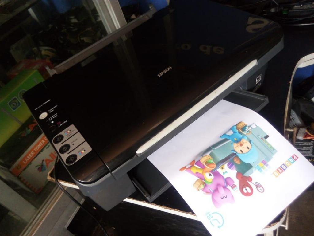 Impresora Epson Cx Sistema Continuo