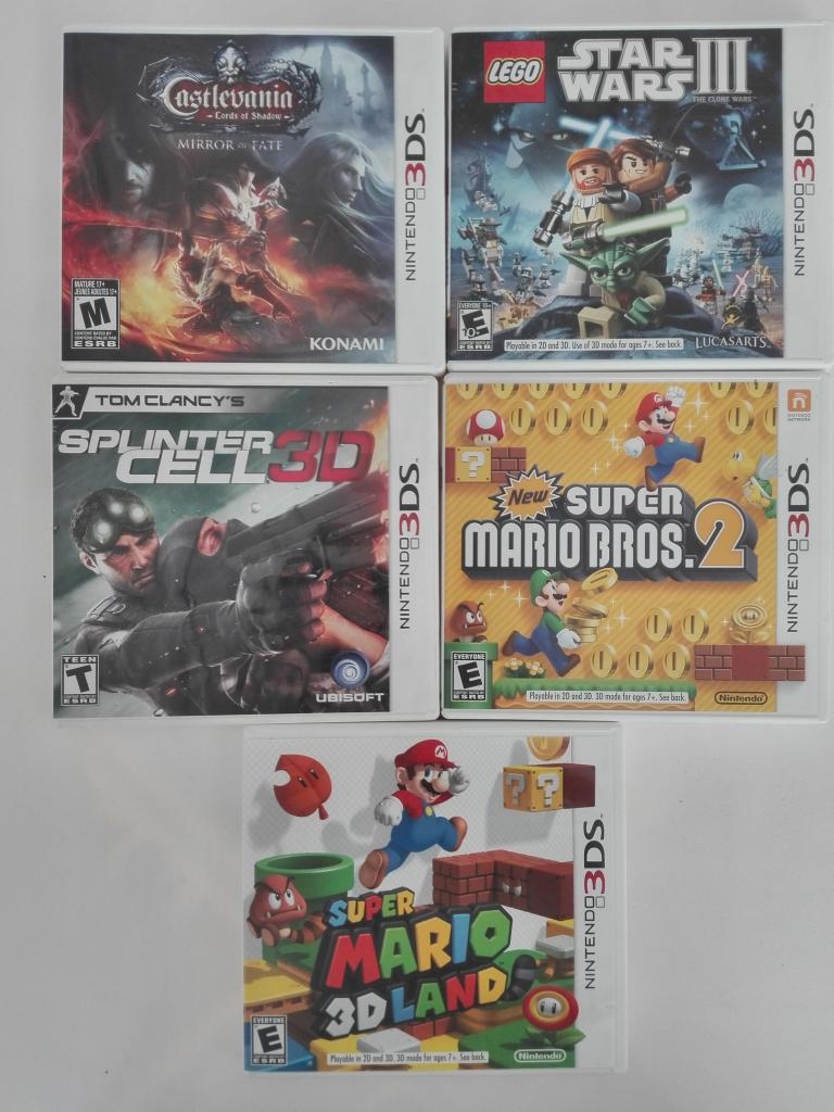 Juegos de Nintendo 3ds y Nintendo ds