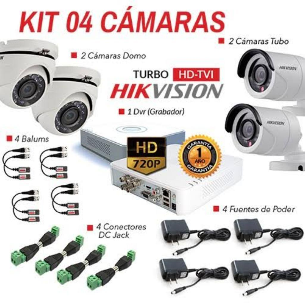 Kit Camara de Seguridad Hikvision