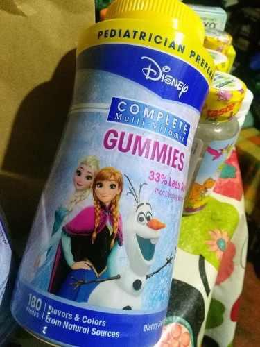 Multi Vitaminas Frozen X 180 Gomitas Usa + Taza