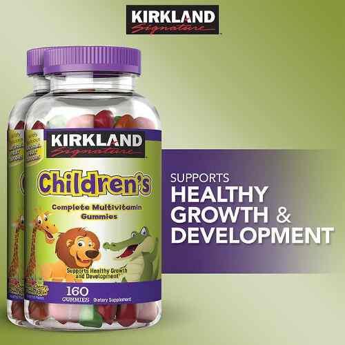 Multivitaminico Para Niños Kirkland Childrens 160 Gomitas /