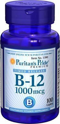 Vitamina B-12 1000 Mcg. Importada De Usa