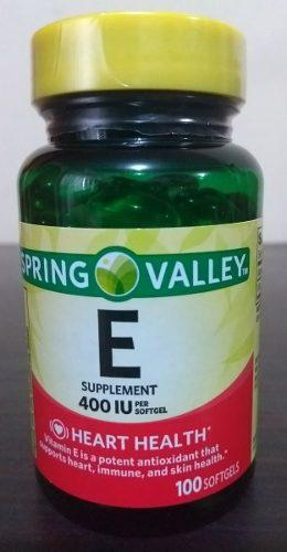Vitamina E 100 Softgel Spring Valley
