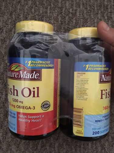 Vitamina Nature Made Aceite De Pescado, Kirkland Glucosamine