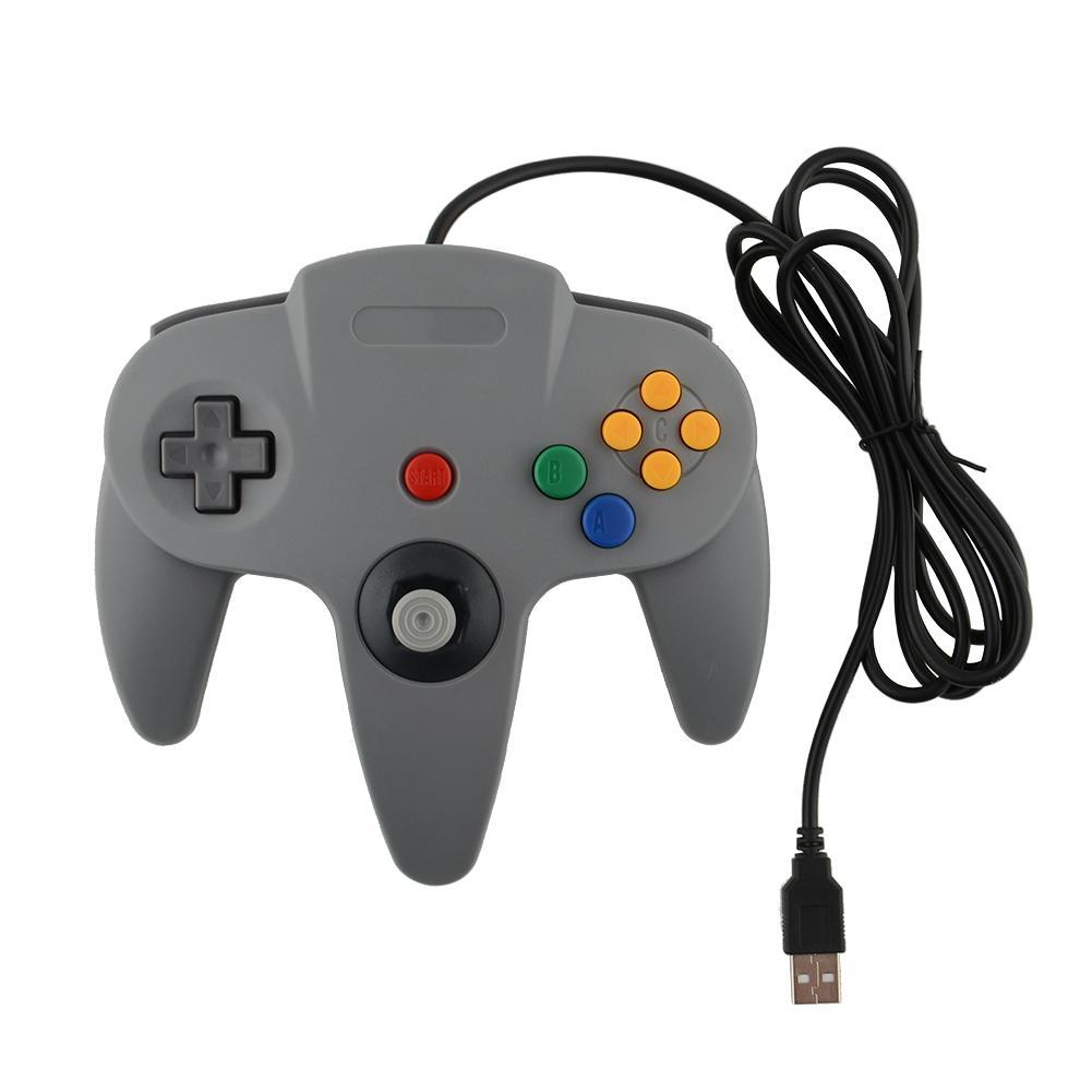 control mando nintendo 64 n64 usb para pc o laptop y juegos