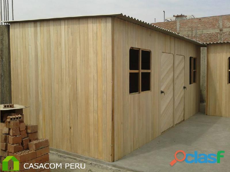 oficinas de madera para jardín