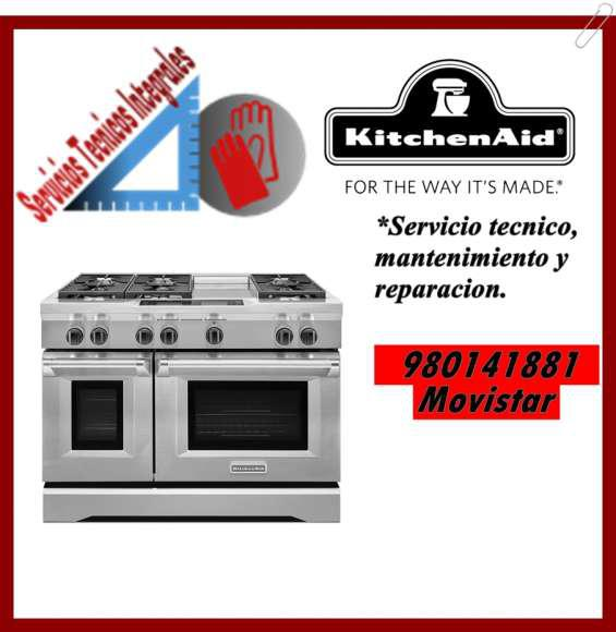 980141881 servicio tecnico kitchenaid cocinas y hornos