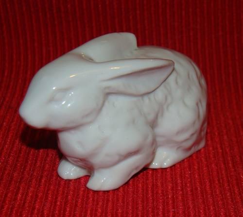 Antiguo Conejo De La Buena Suerte Porcelana Años 50s