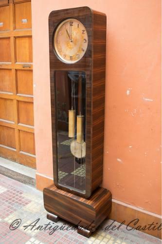 Antiguo Reloj De Pie Junghans Alemán Autentico Y Original