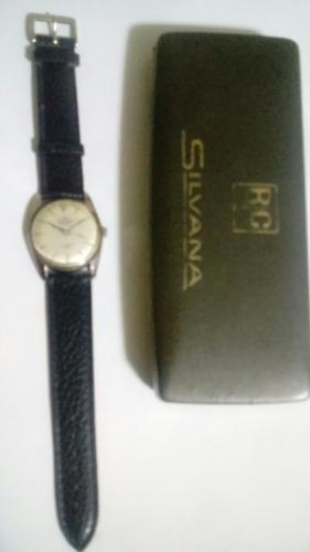 Antiguo Reloj Silvana De Coleccion A Cuerda Manual
