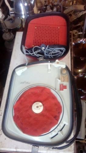 Antiguo Tocadisco Teppaz. Made In France. Funciona