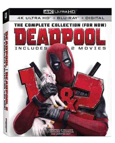 Blu Ray Deadpool 1&2 En 2d - 4k - Stock - Nuevo - Sellado