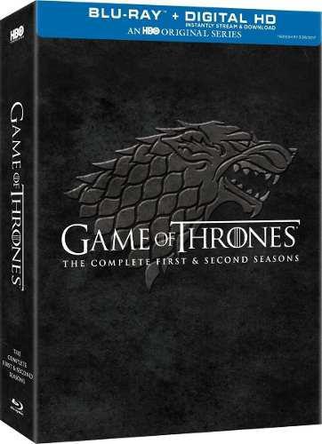 Blu Ray Game Of Thrones: Temporada 1 Y 2 - Stock - Sellado