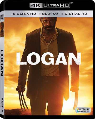 Blu Ray Logan 2d - 4k - Stock - Nuevo - Sellado